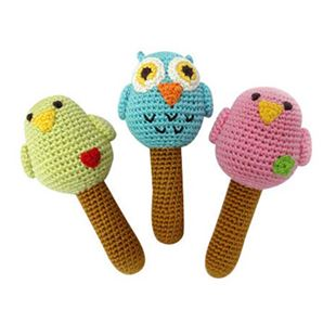 Picture of Baby Bird Rattles
