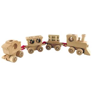 Picture of Wooden Toy Train