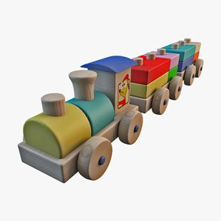 Picture of Wooden Train Set