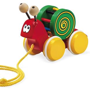 Picture of Snail Pull-Along Toy