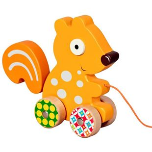 Picture of Squirrel Pull-Along Toy