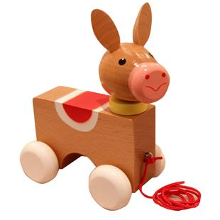 Picture of Donkey Pull-Along Toy