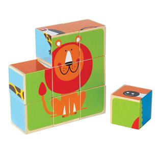 Picture of Multi-Animal Cube Puzzle