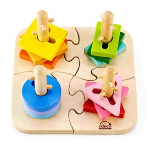 Picture of Creative Peg&Nob Puzzle