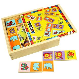 Picture of Wooden Box Domino Game