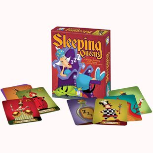 Picture of Sleeping Qweens Card Game