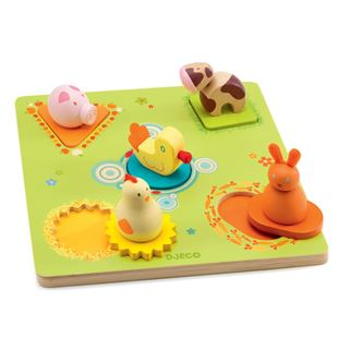 Picture of Farm Peg&Nob Puzzle